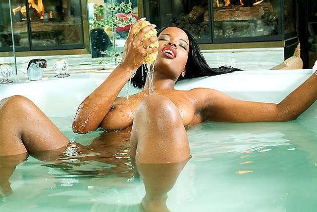 Beautiful Blk Bombshell KITTY is Providing a NURU Massage..more info inside